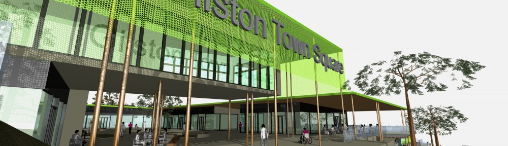 Gilston Town Centre Press
